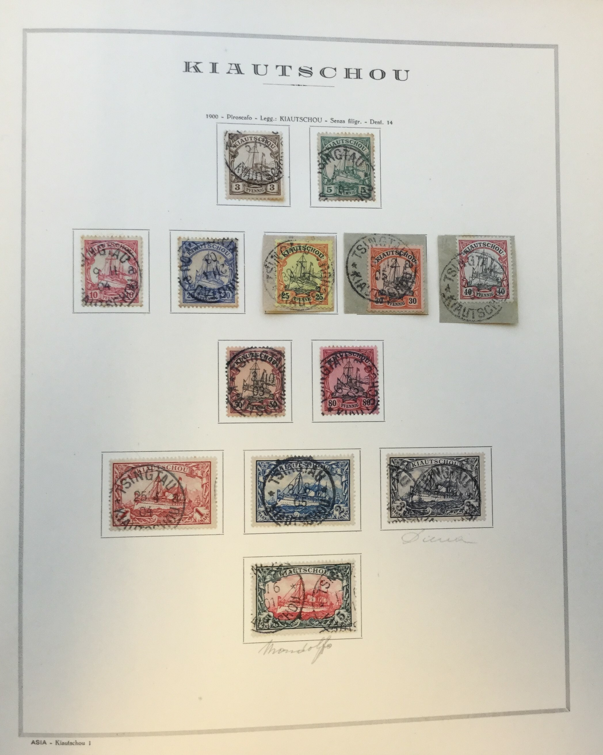 Lot 2258 - german colonies and offices abroad Lots & Collections -  Ponte Auction House Stamps Auction 505