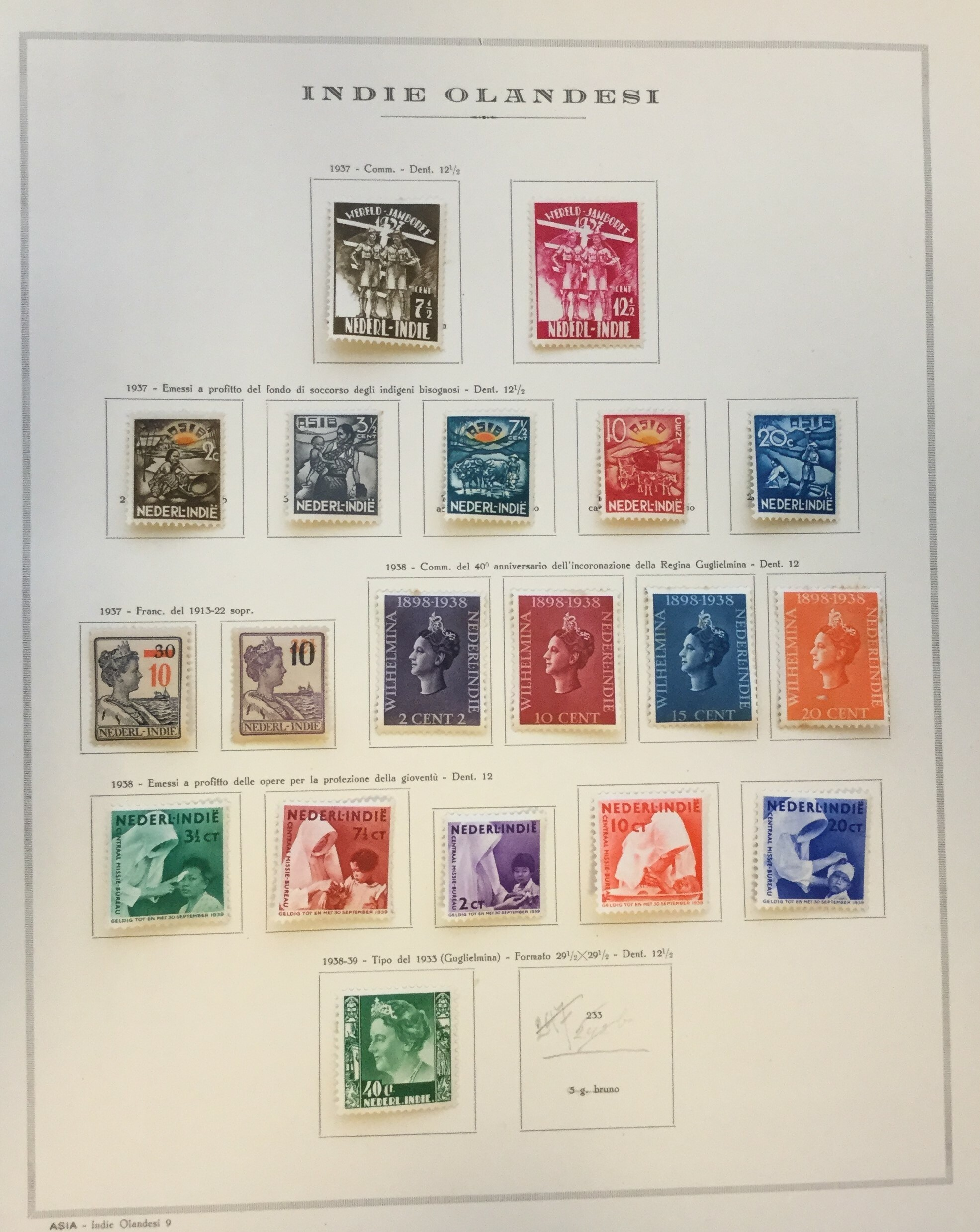 Lot 2309 - netherlands colonies Lots & Collections -  Ponte Auction House Stamps Auction 505