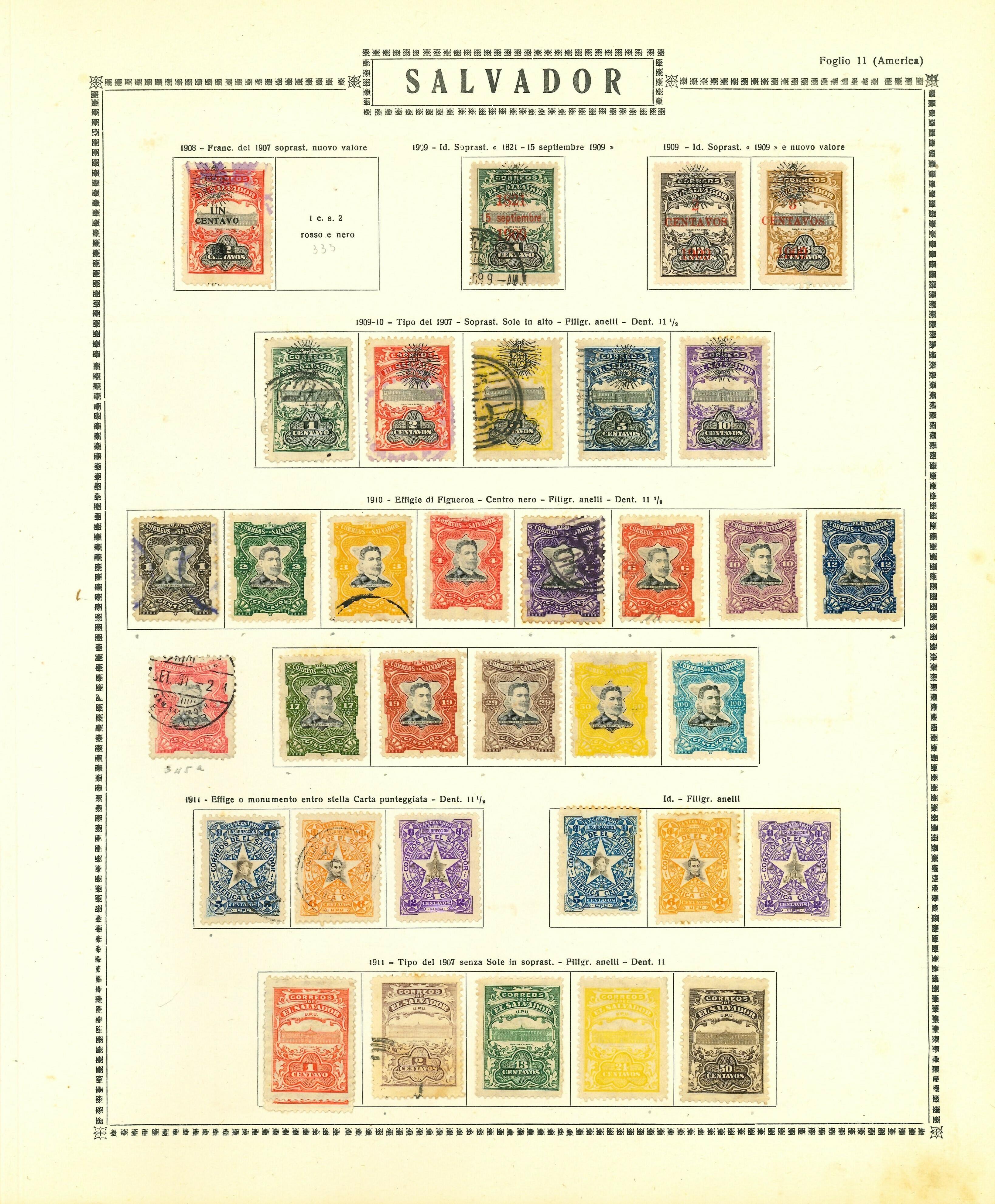 Lot 2337 - salvador Lots & Collections -  Ponte Auction House Stamps Auction 505