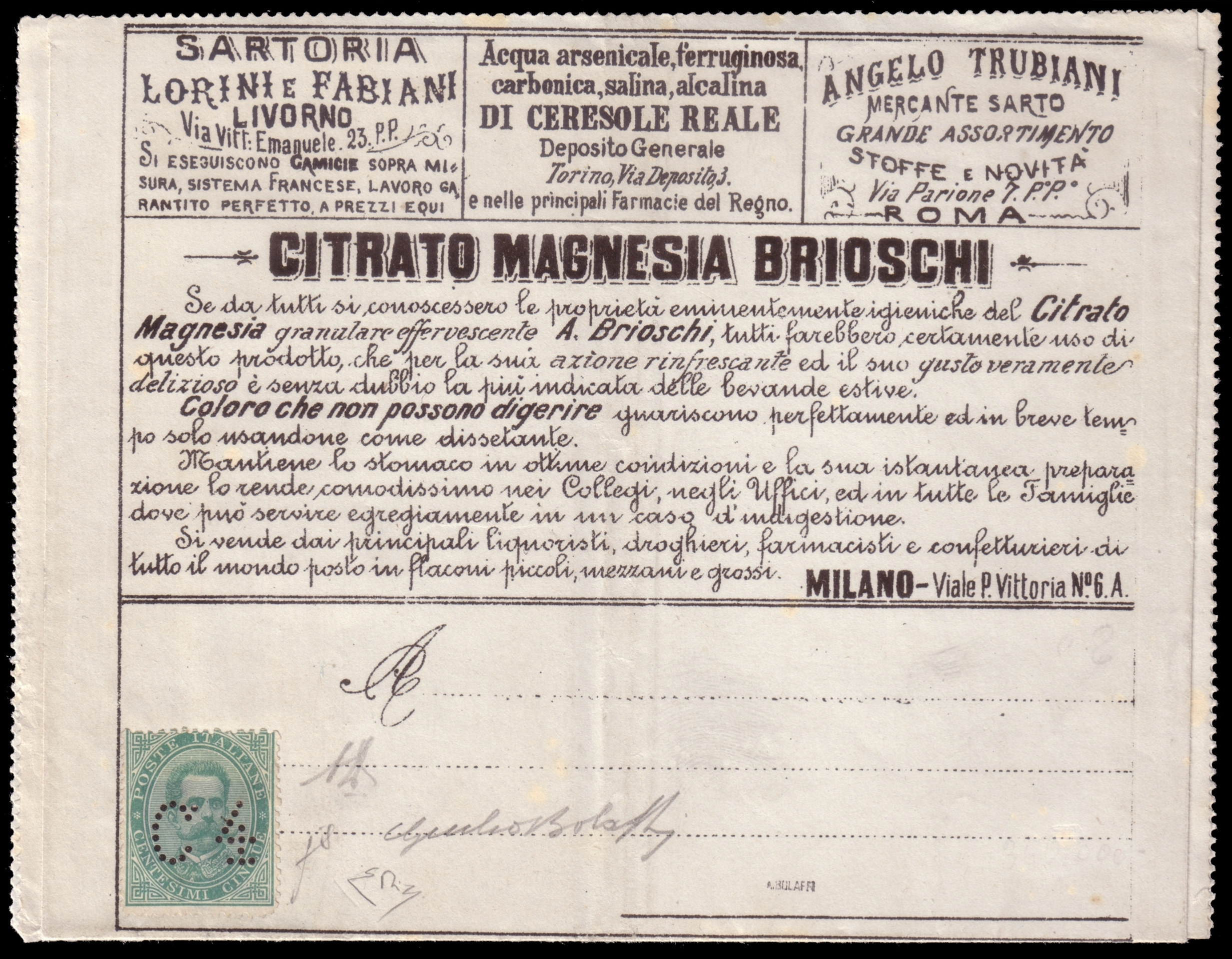 Lot 2413 - REGNO D'ITALIA Individual lots -  Ponte Auction House Stamps Auction 505