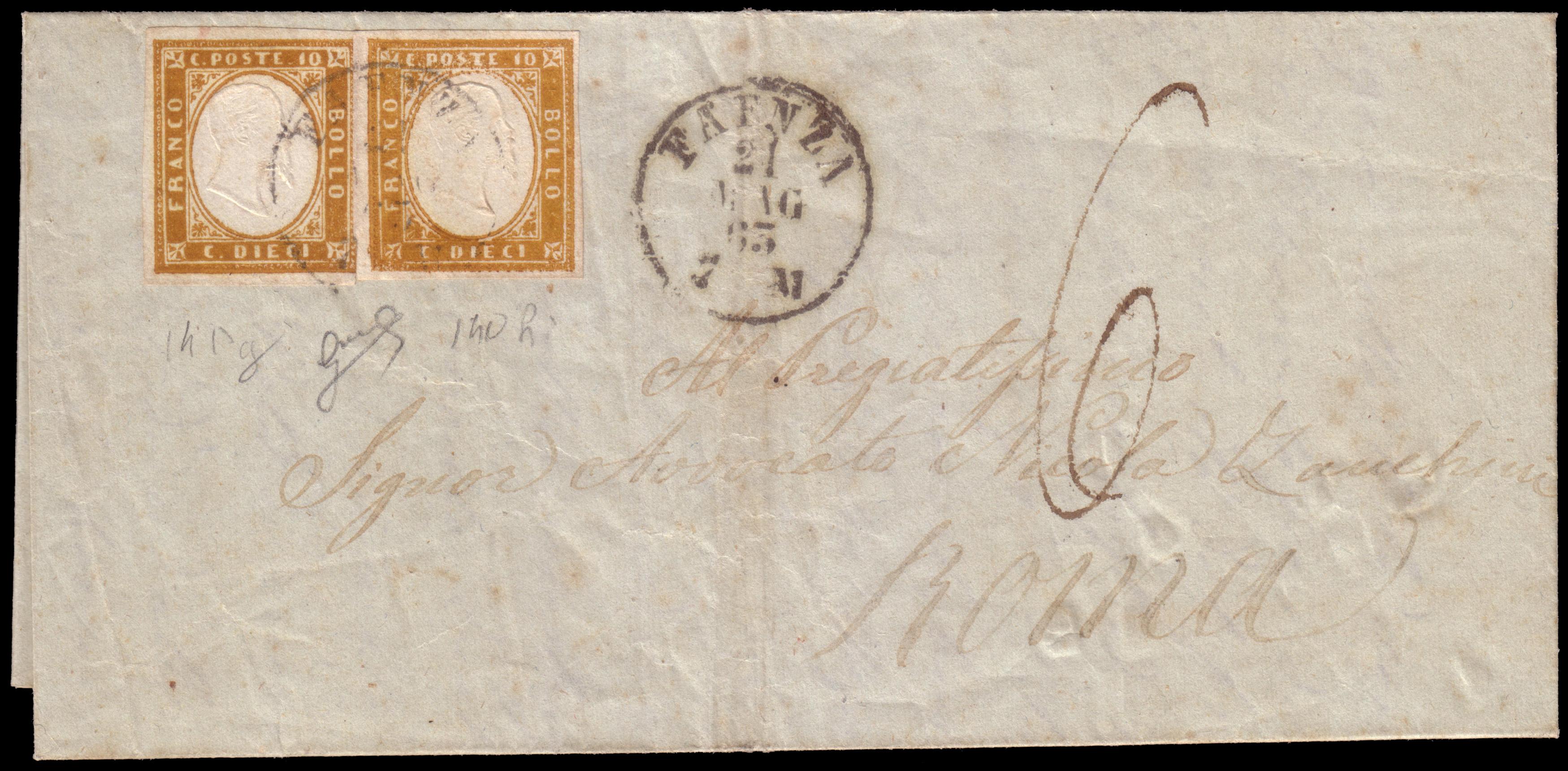 Lot 2415 - REGNO D'ITALIA Individual lots -  Ponte Auction House Stamps Auction 505