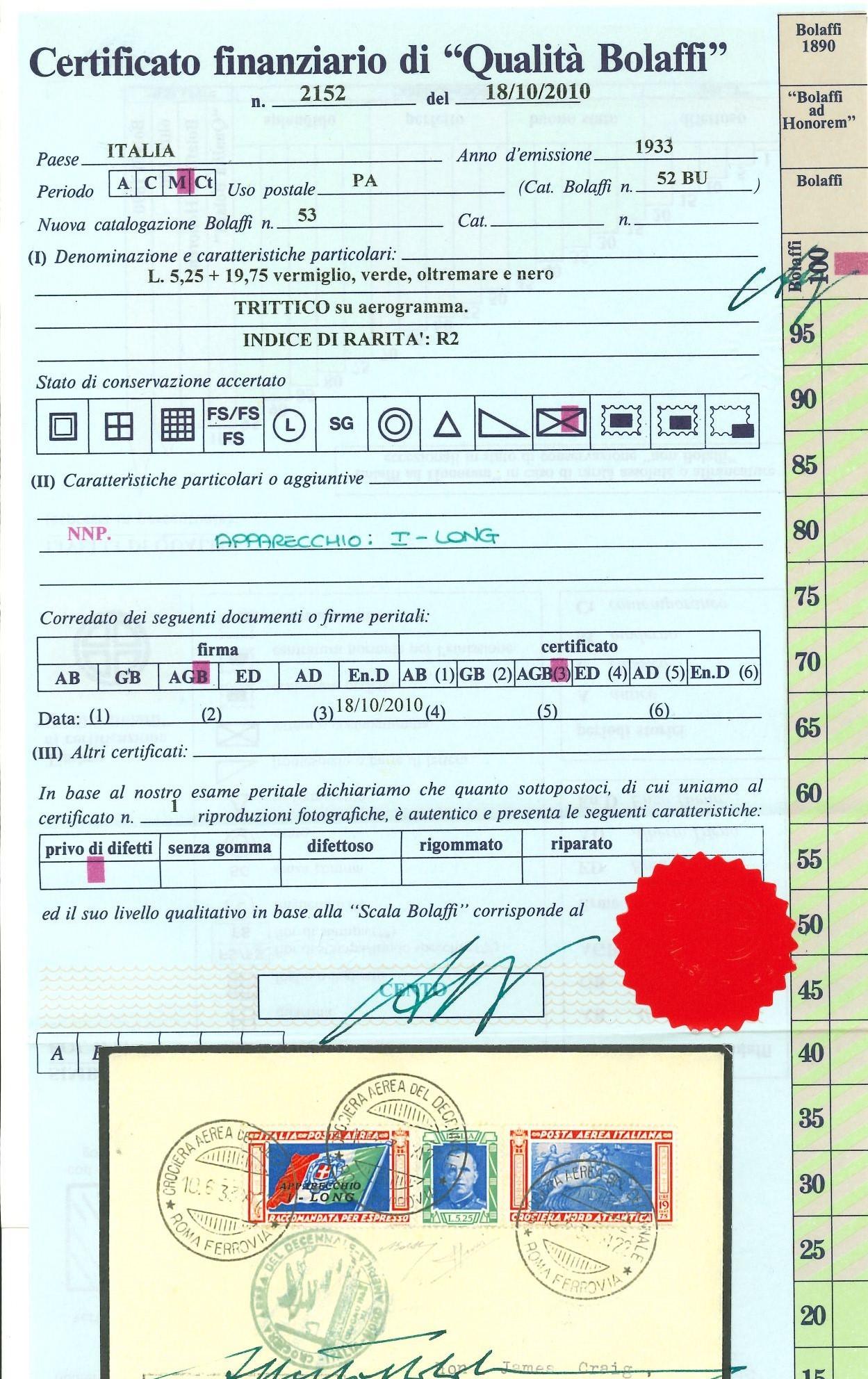 Lot 2428 - REGNO D'ITALIA Individual lots -  Ponte Auction House Stamps Auction 505