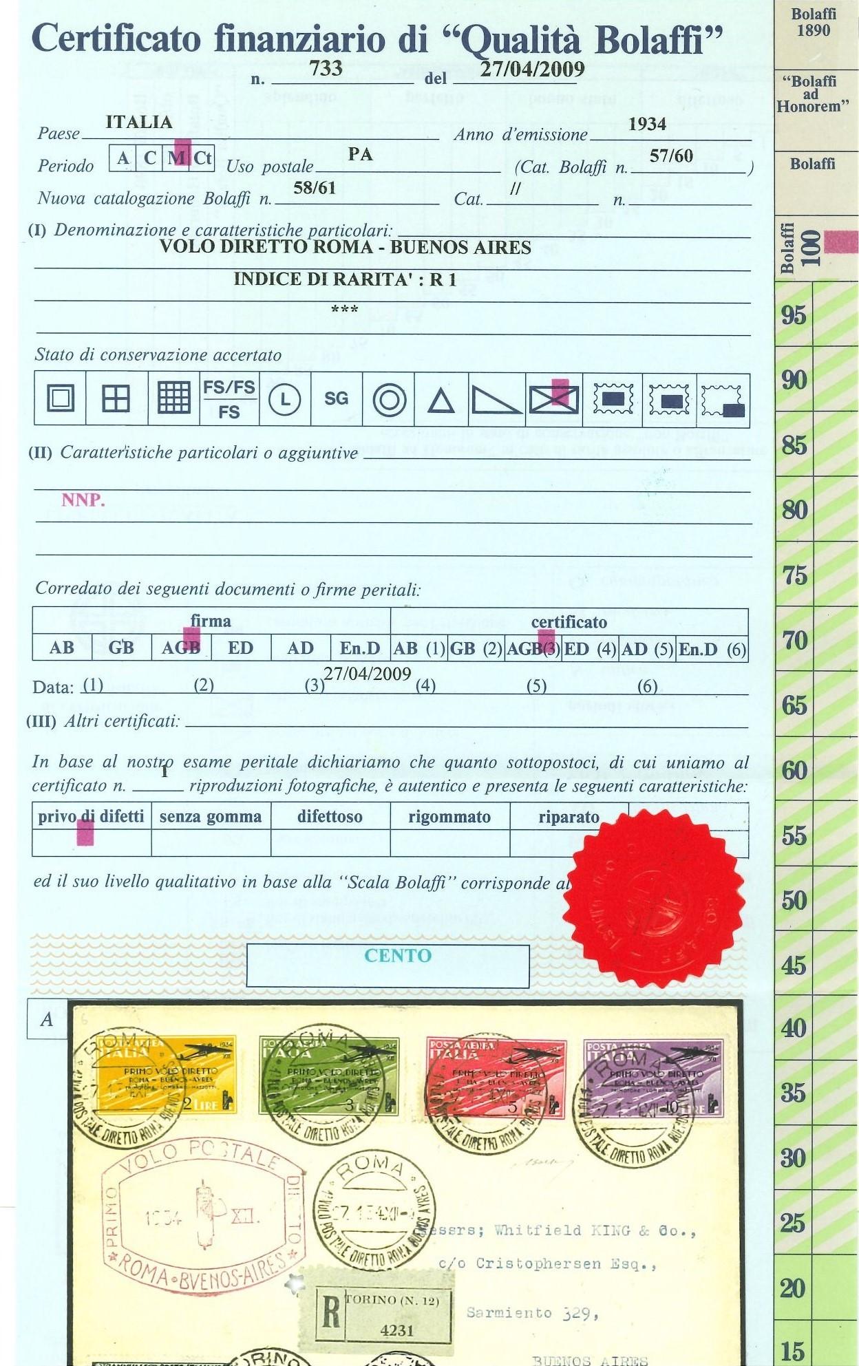 Lot 2431 - REGNO D'ITALIA Individual lots -  Ponte Auction House Stamps Auction 505
