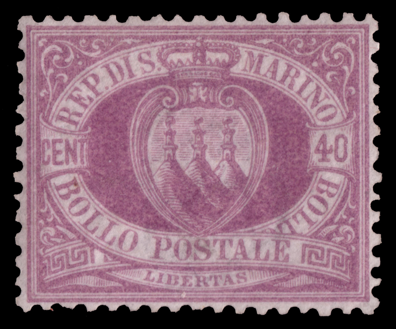 Lot 2456 - San Marino Individual lots -  Ponte Auction House Stamps Auction 505