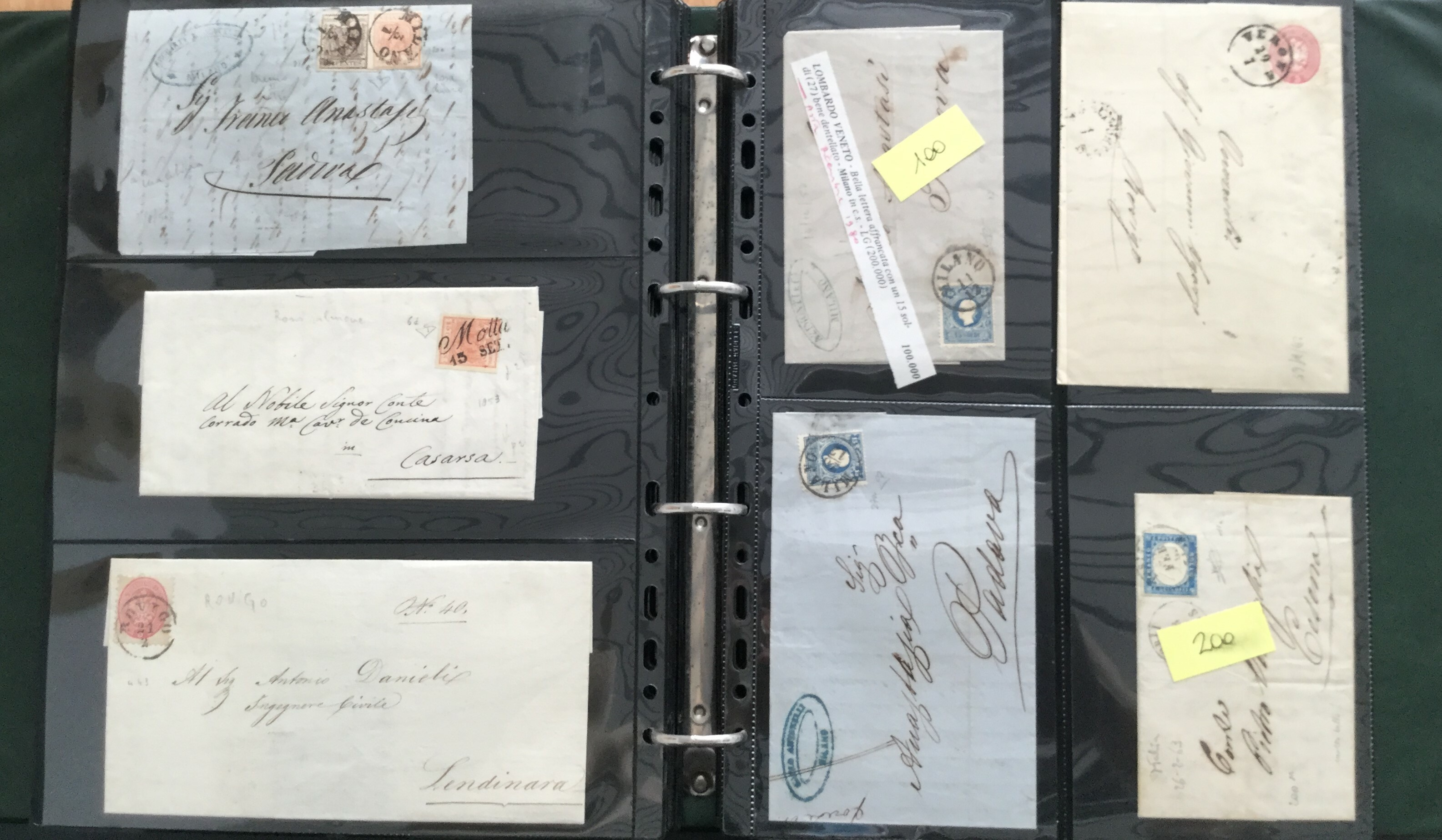 Lot 2506 - ANTICHI STATI, REGNO D'ITALIA Lots & Collections -  Ponte Auction House Stamps Auction 505
