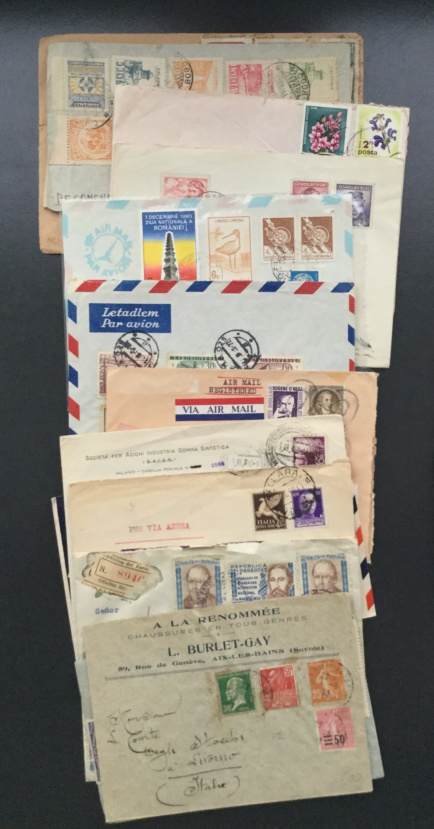 Lot 2555 - MONDIALI Lots & Collections -  Ponte Auction House Stamps Auction 505
