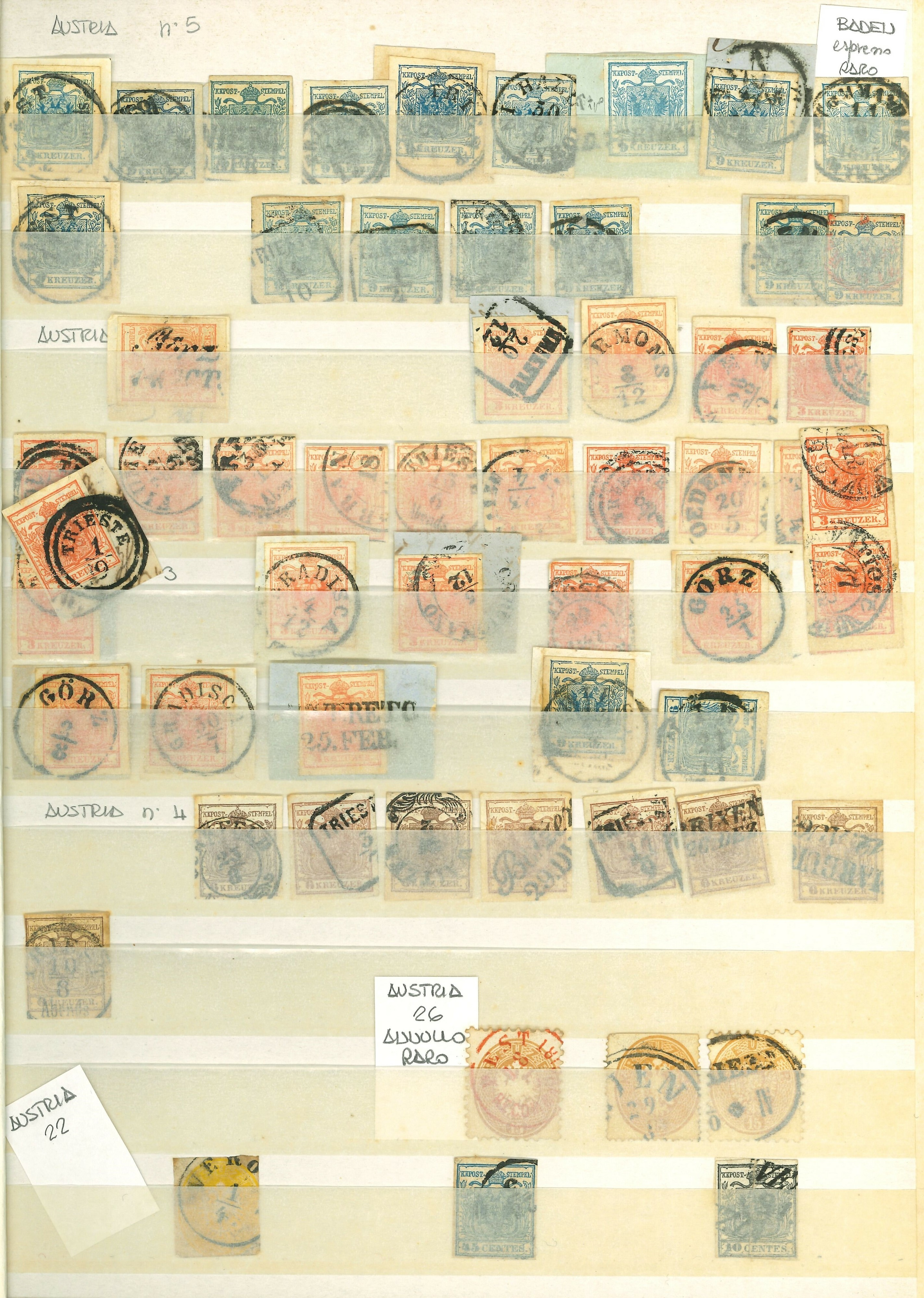 Lot 2567 - PAESI EUROPEI Lots & Collections -  Ponte Auction House Stamps Auction 505