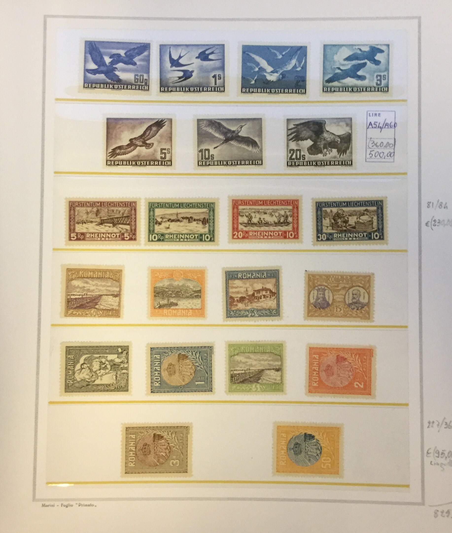 Lot 2570 - PAESI EUROPEI Lots & Collections -  Ponte Auction House Stamps Auction 505