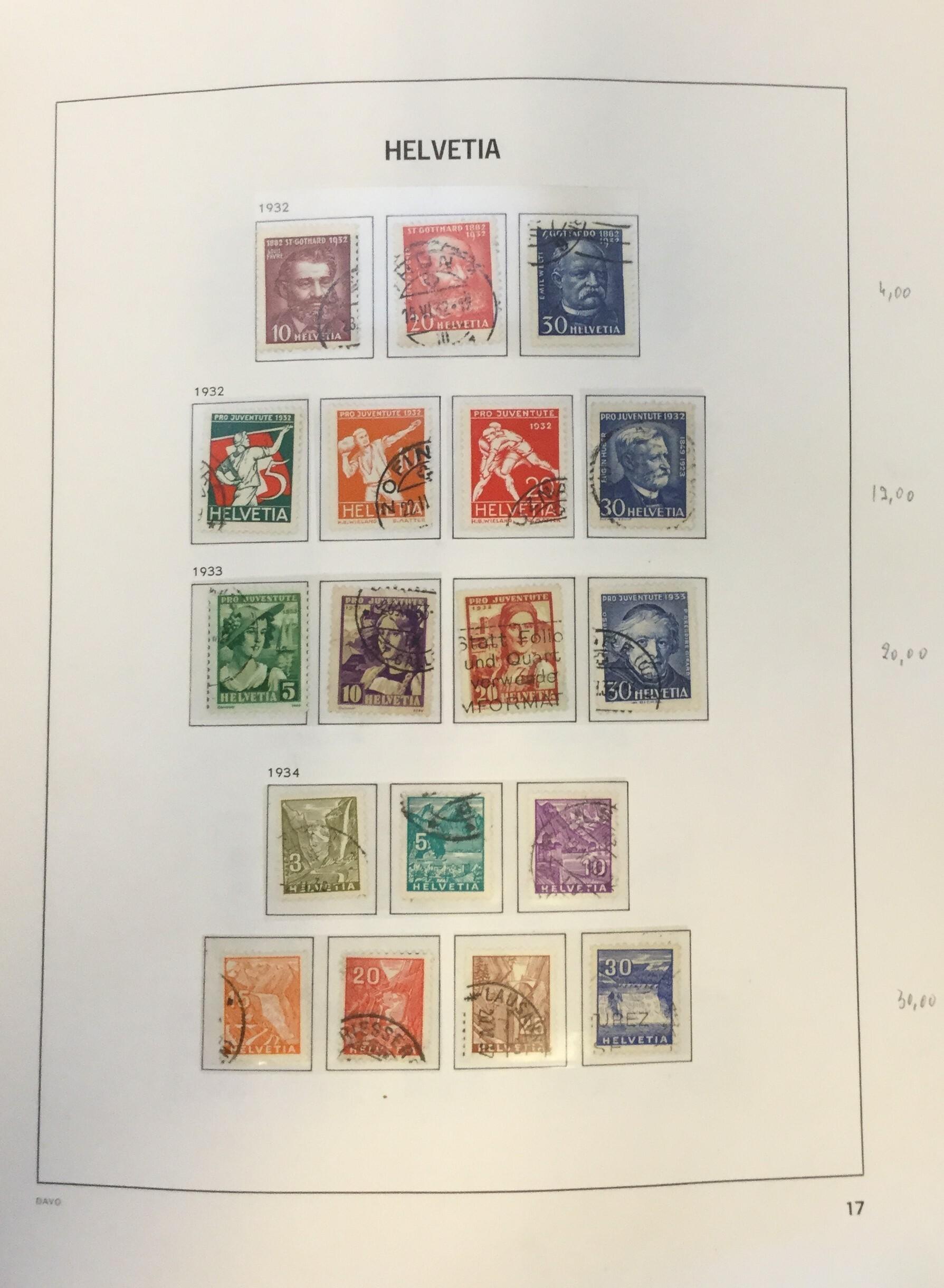Lot 2612 - svizzera Lots & Collections -  Ponte Auction House Stamps Auction 505